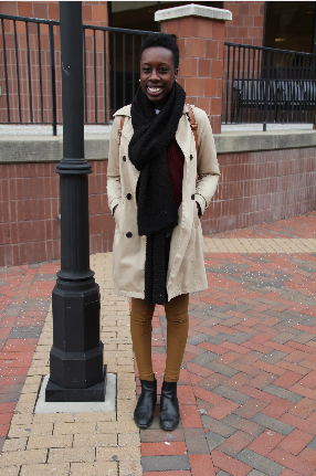Whitney, Mass Communication Major (Advertising) & French Minor Pants from American Apparel, Boots from a recent trip to France