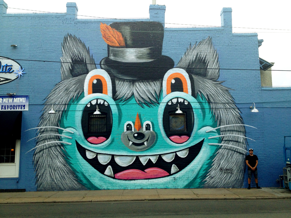 Mural by Greg Mike
