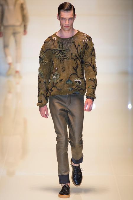 Gucci Menswear S/S 2014 (Photo: Yannis Vlamos / InDigital   GoRunway)