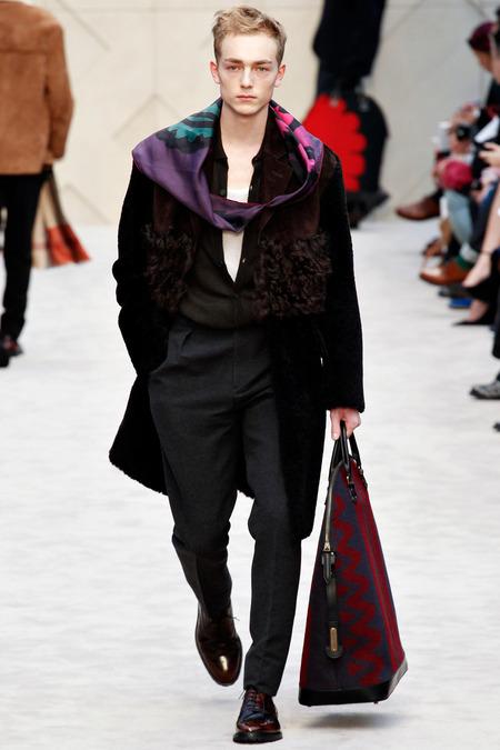 Burberry A/W 2014 Menswear (Photo: Marcus Tondo / InDigital / GoRunway)
