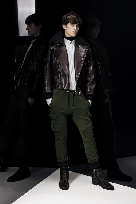 Balmain A/W 2014 Menswear (Photo: Courtesy of Balmain)