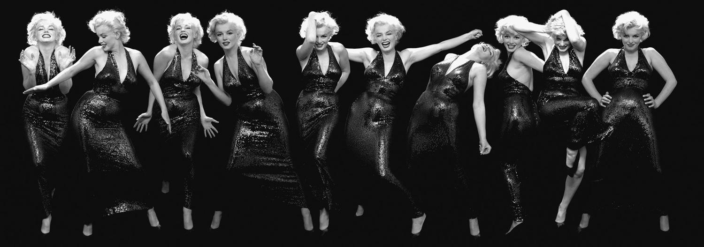 Marilyn Monroe, actress, New York, May 6, 1957