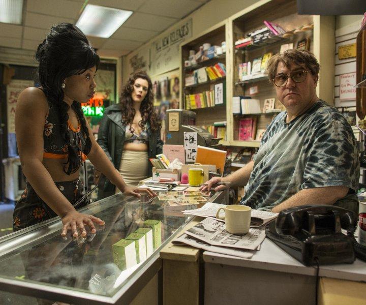 """The Deuce season 1""  HBO Productions 2016 1114 Avenue of the Americas New York City 10036  Characters:   Dominique Fishback-  Darlene Kim Director-  Shay E.J. Carroll-  Fat Mooney"